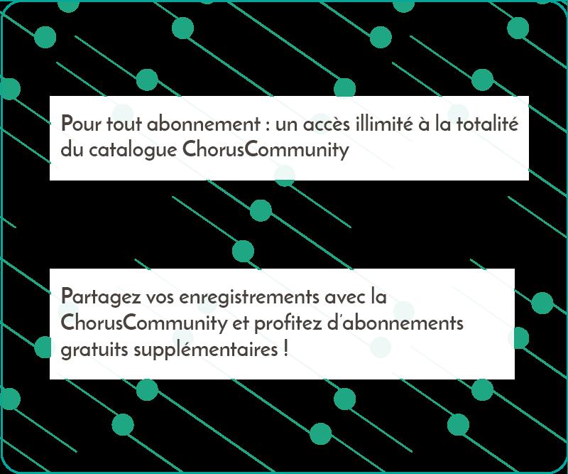 Accès au catalogue ChorusCommunity
